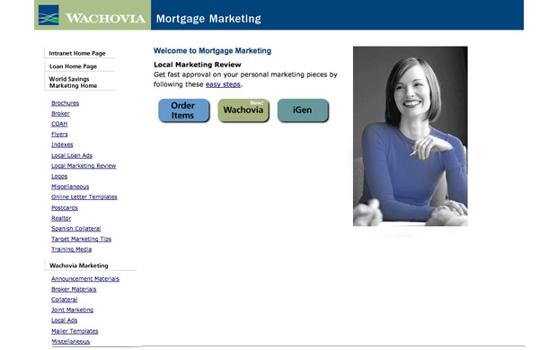Gabrielreid Com Portfolio Mortgage Marketing Intranet
